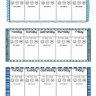 This freebie includes 3 weekly behavior charts with cute frames. I've left room for you to write the date and comments about the child's day. 3 to ...