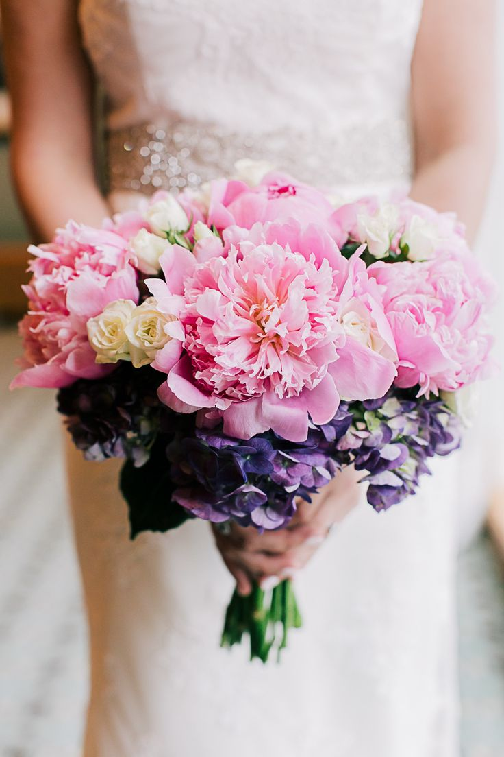 One of those Wow kind of wedding bouquets! See the wedding on SMP: http://www.StyleMePretty.com/tri-state-weddings/2014/02/28/traditional-westchester-wedding-at-the-ritz-carlton/ B Hull Photography