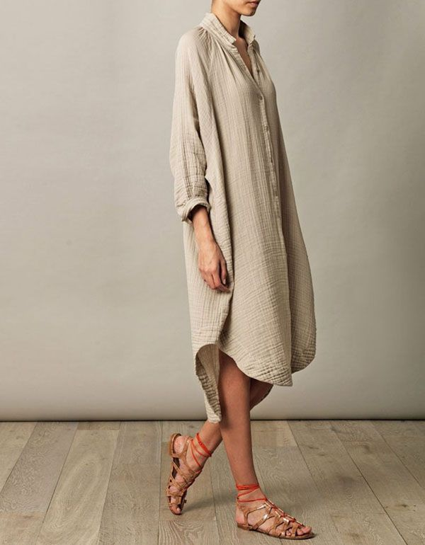 O camisão ou chemise é o mais novo queridinho quando o assunto é conforto e estilo. Vai ficar sem o seu?
