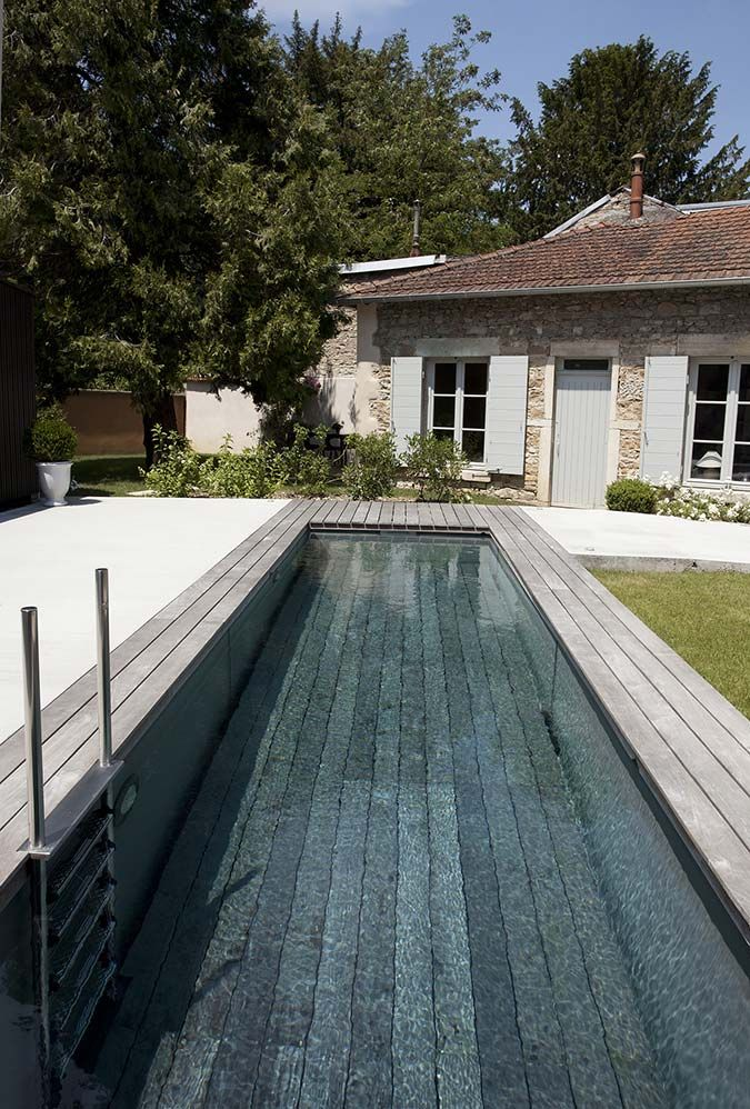 1000 id es sur le th me piscine bois sur pinterest for Mini piscine bois enterree