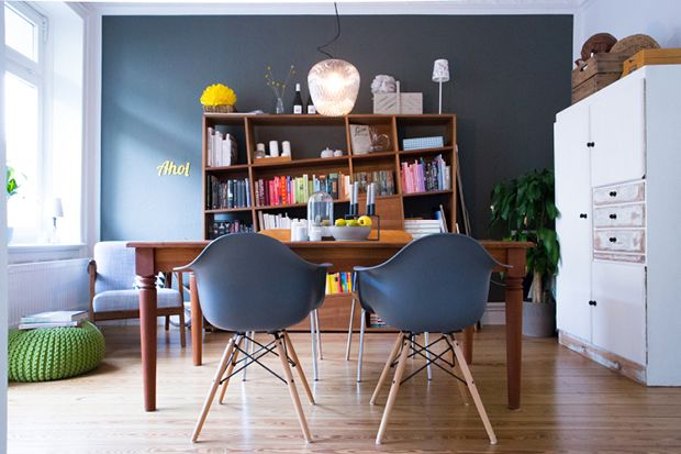 my dining room - elbmadame Home decoration  Eames, Bolia, Books, &tradition Altbau, Hamburg