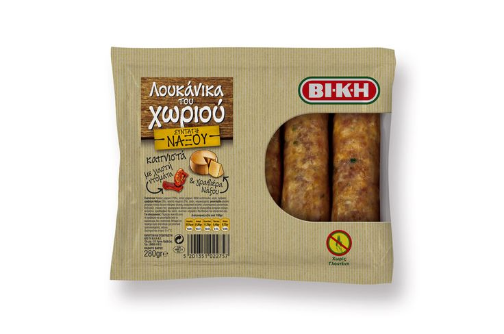 VI.K.I. Sausages Packaging Naxou Recipe