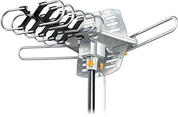 Esky174; Remote Control HDTV Outdoor Antenna UHF/VHF 360 Degree Rotation US Version HG-995 Review 2017