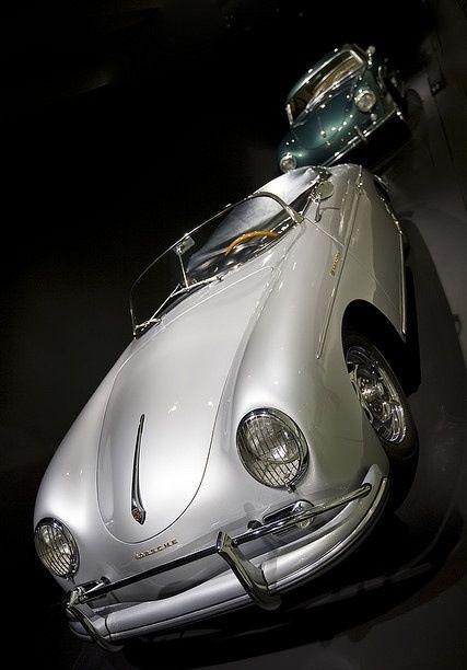 Porsche 356 Speedster from Porsche Museum - celebritys sport cars sport cars
