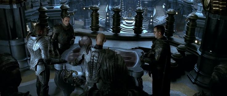Chronicles of Riddick. Necromongers' council of war