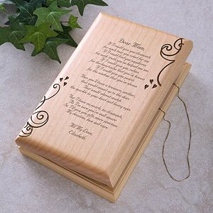 A Poem For Her Engraved Jewelry Box Engraved Jewelry Box Engraved Jewelry Wooden Jewelry Boxes