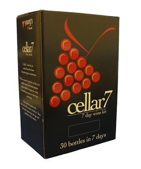 Youngs Cellar 7 Merlot Blush Rose Wine Kit. Homebrew supplies online.