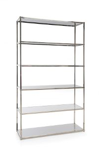 Selected Shelving Units for Living room x 2: UPPER - Decor Rest - Maria Bookcase 015-4500B 48L x 16D x 78H