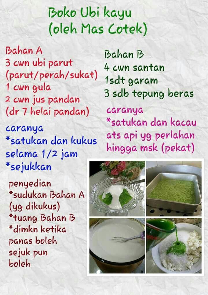 resepi tepung boko ubi kayu kelantan memory ziasaf rasa dapurku  kuih tepung boko ubi kayu Resepi Goreng Pisang Terengganu Enak dan Mudah