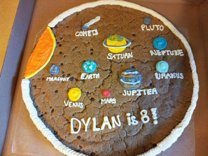 Solar System Cookie Cake | Projects! | Pinterest | Cookie ...