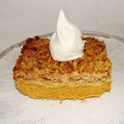 Pumpkin Pie Cake I Allrecipes.com
