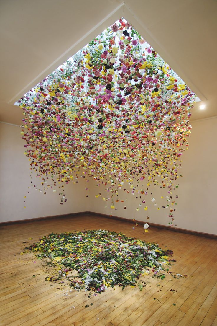 Art Crush/ Floral Installation Artist Rebecca Louise Law