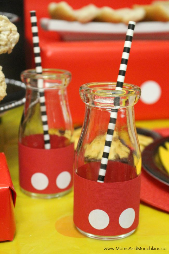 Mickey Mouse Party Ideas for Kids - Moms & Munchkins                                                                                                                                                      More