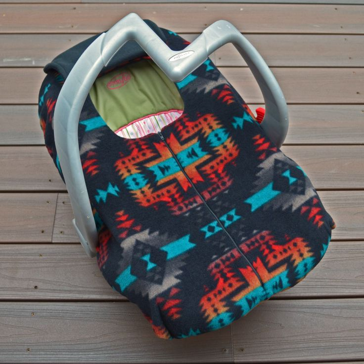 Southwest Car Seat Cover for Baby - Black, Red, Teal, Grey, Orange, Modern Baby Gift by sophiemarie on Etsy https://www.etsy.com/listing/206689997/southwest-car-seat-cover-for-baby-black