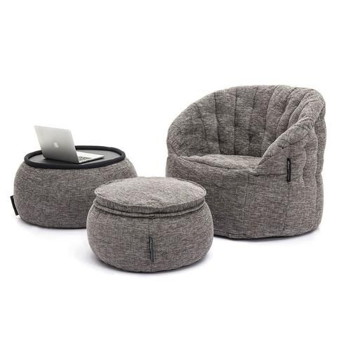 Smart buying and better quality of living (rooms). Our Interior designers have created matching, beautiful and functional designer bean bag lounge suites for a fraction of the price of traditional furniture. Fill your home with creature comforts and style