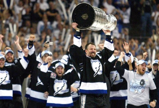 "Tampa Bay Lightning ""2004""winning the Lord Stanley Cup. The Stanley Cup run in 2004 was something truly unforgettable for me..."