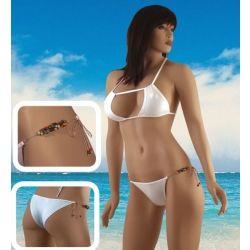 Mayo Ve Bikini :: Exotic Beaded Brazilian Bikini - NV-342W - İç Giyim   İç Çamaşırı   Erotik İç Giyim   Fantazi Giyim   Seksi Giyimler   Fantezi İç Giyim   Deri İç Giyim   Vücut Çorabı   Lingerie   Jartiyer   Sexy Giyim   Fantazi Takımlar   Seksi Kostümler   Seksi Kıyafet   İç Giyim Modelleri