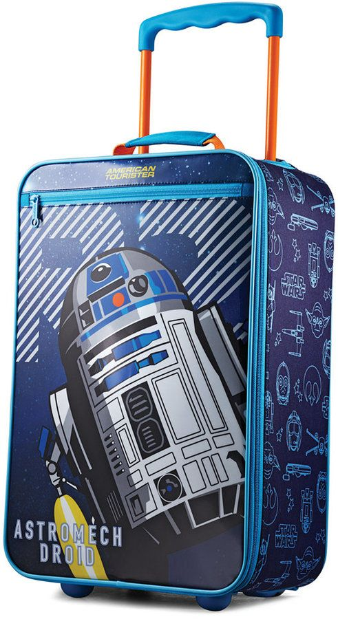 "American Tourister Star Wars R2D2 18"" Softside Rolling Suitcase"
