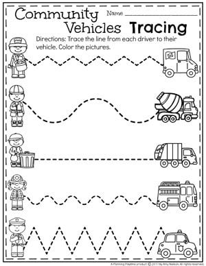 Community Helpers Preschool Theme | Teachers Pay Teachers - My Store ...