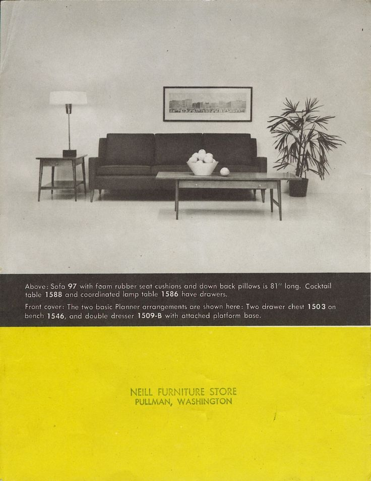 Page From Brochure For Paul McCobbu0027s Planner Group Furniture.