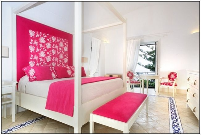 les 25 meilleures id es de la cat gorie chambre fuschia sur pinterest salle tonalit de bijou. Black Bedroom Furniture Sets. Home Design Ideas