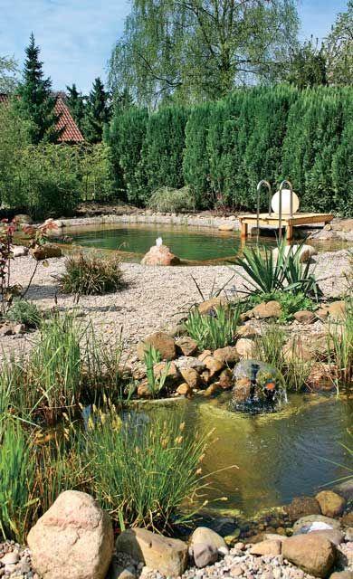 die 25 besten ideen zu schwimmteich auf pinterest naturteich swimmingpool und naturschwimmbecken. Black Bedroom Furniture Sets. Home Design Ideas