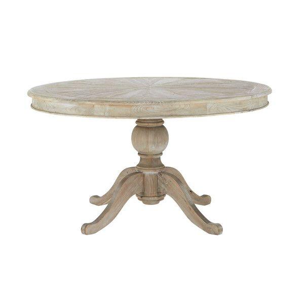 Mesa redonda de madera ... - Neuilly