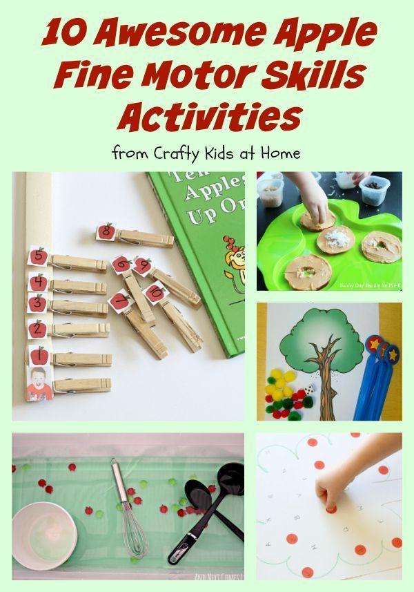 269 best motor skills images on pinterest activities for for List of fine motor skills for preschoolers