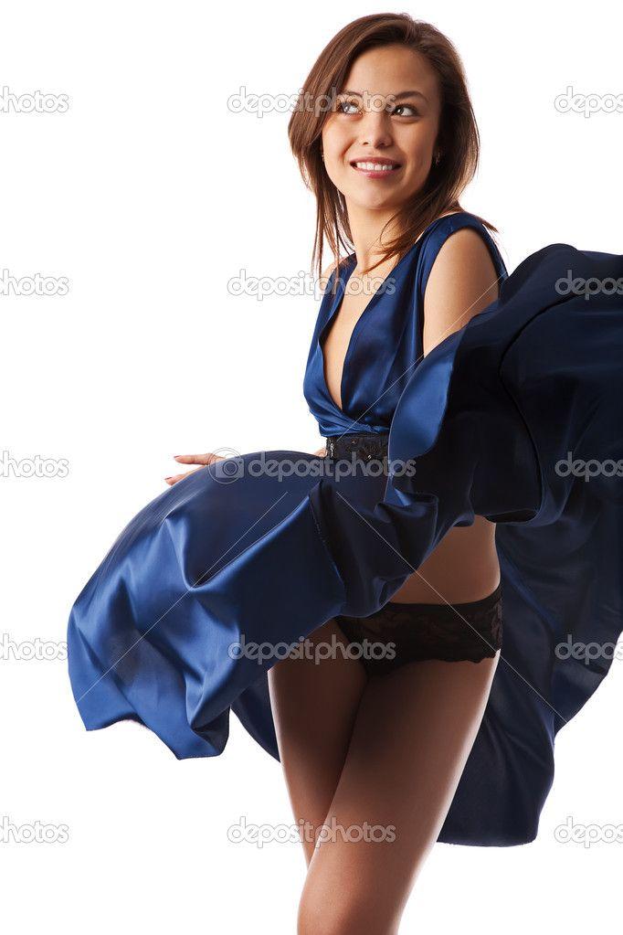 blown dress love girl