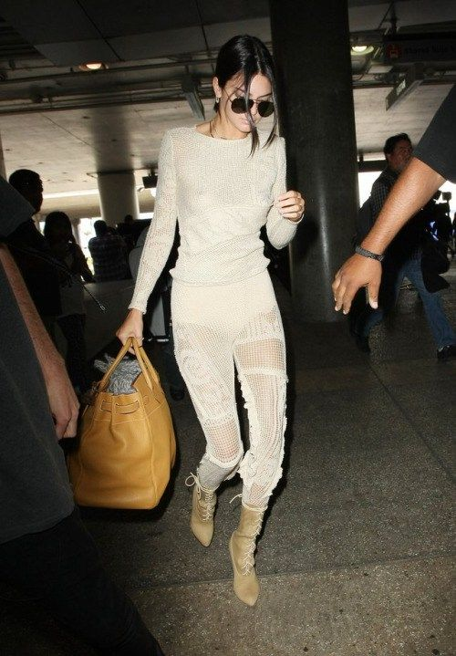 blogofkendall: May 18 Kendall arriving at LAX Airport in Los