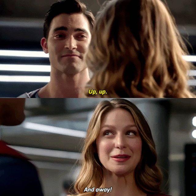 #Supergirl #Superman #UpUpAndAway