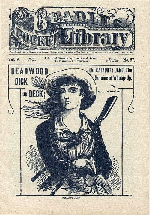 Calamity Jane, the Heroine of Whoop-Up.Febuary 11, 1885.