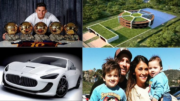 Lionel Messi's Biography  Family  Net worth  House  Cars  pets - 2016.  Born on: 24th Jun 87 Born in: Argentina Marital status: Single Occupation: Soccer Star Lionel Messi  net worth is estimated at $180 million.  Messi became the first 4 time winner of the FIFA Player of the Year award after scoring Ninty One goals for Barcelona and Argentina. Lionel Messi  net worth came from his annual salary as one of the top soccer player as well as from his lucrative endorsements. Lionel Messi…
