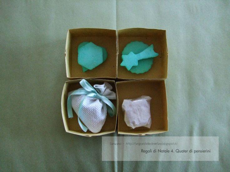 Quater di pensierini #regali #handmade