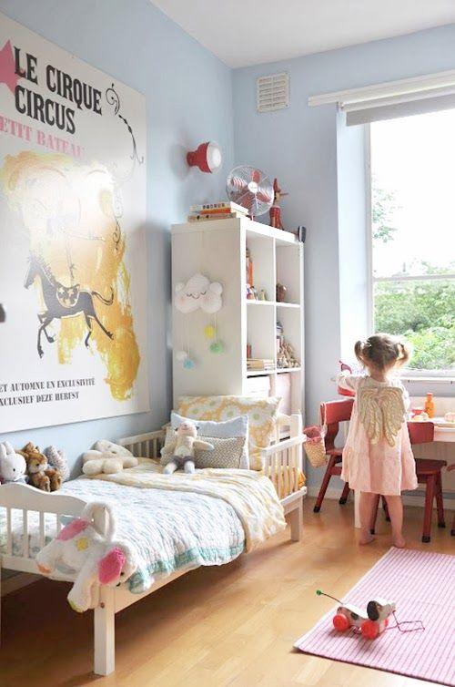 Dormitorio de niña de 3 años