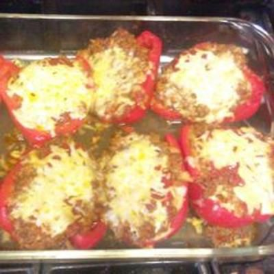 Stuffed Mexican Peppers: Food And Drink, Stuffed Mexican, Mexicans, Peppers Recipe, Favorite Recipes, Stuffed Peppers