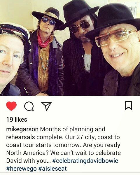 .donT Sleep EASTCoast#davidbowie TributeConcerT w/ his OG bandmates @mikegarson #celebrate the #SuperModeL  #bowie Speed o  Sound #LiT cali and.... #neverforget Our Native-Son  GrassValleys Ambassador #ChrisStevens 3 IT Staffers fn KiLLED defending  USA Embassy in LibYA wtff #America  our DiPLomats don't go down MuRDERed in FN cold-blood #stevejones  presents  the Studio Axe named' Yaaaay BaYbeeee in-house  AXE ..to Lead bY  exampleProtect/Care/Loveour  ol'skool Ladies SpeakUP itssa OUTDOORS…