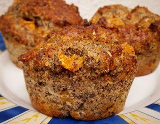 5 perces sárgabarackos-mákos muffin | Életmód+diétás receptek