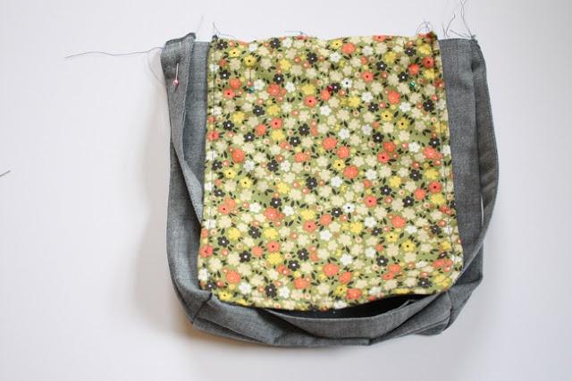 come si cuce una messenger bag