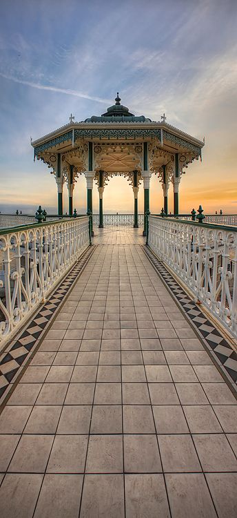 Hove Bandstand: Designed by Phillip Lockwood and completed in 1884, the bandstand is considered to be one of the best surviving Victorian examples in the UK today. The bandstand is owned by the council and is used for weddings and throughout the summer, concerts.