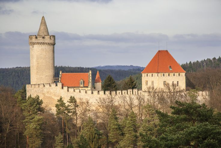 Kokorin castle – small castle surrounded by pure nature. #castle #kokorin #Czech #daytrip