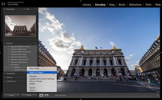 Another Way to Apply Presets on Import - Lightroom Killer Tips