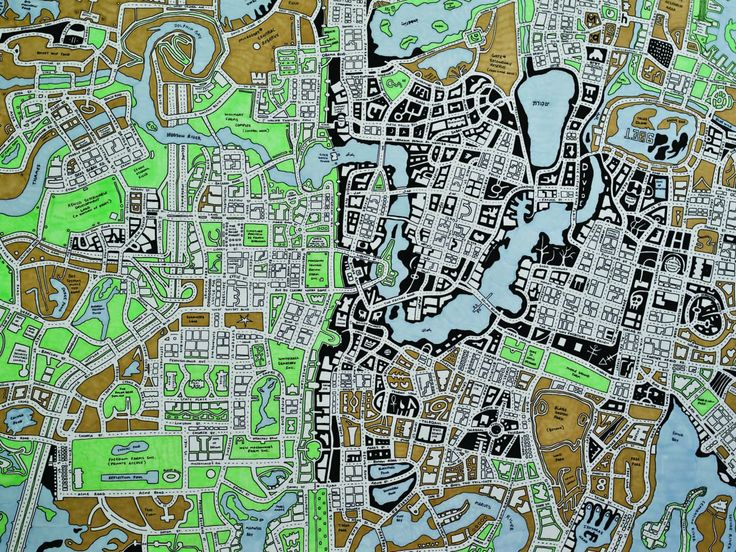 From Here to There: A Curious Collection from the Hand Drawn Map Association