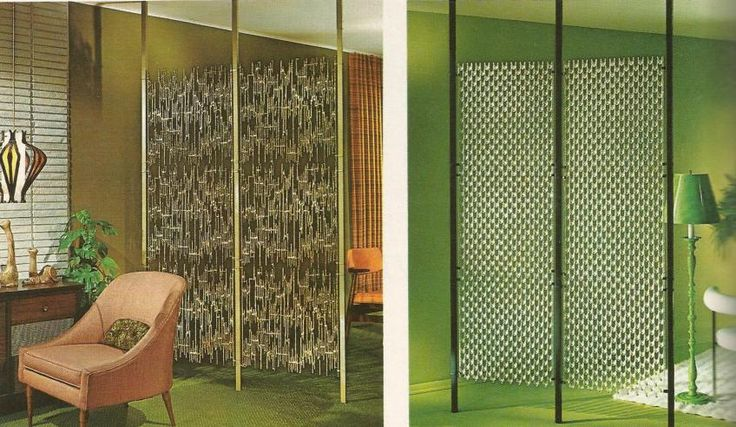 Tension Pole Room Dividers In Catalogue Mid Century