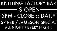 the knitting factory
