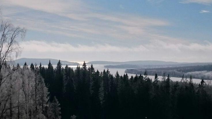 Vy över utöver Malmön och havet.