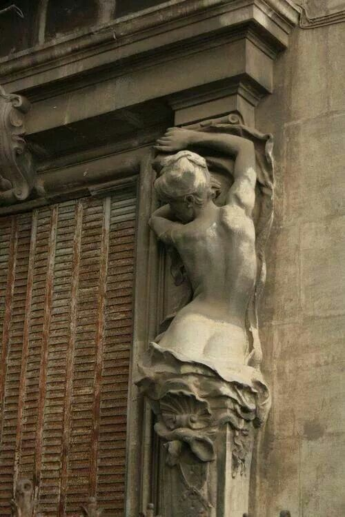 Buenos Aires - Argentina. Window detail
