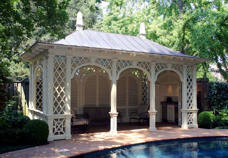 Gardening : Outdoor Living :: Outdoor Room :: Pool Pavilion