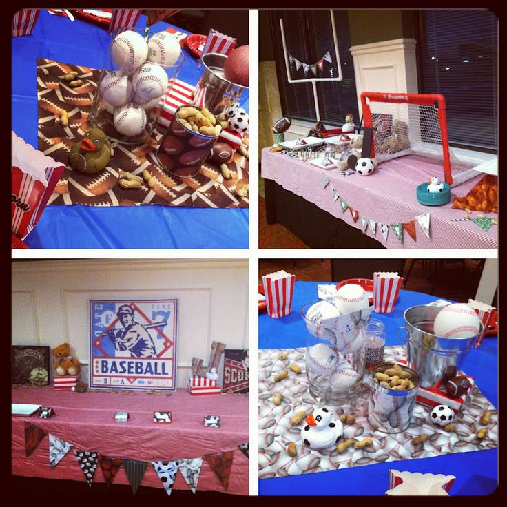 Baby Shower Themes Sports ~ Best images about it s a boy baby shower ideas on