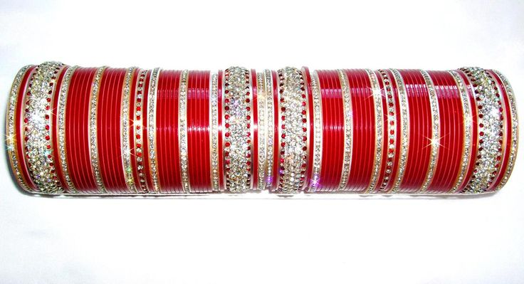 Red Indian Bridal #Chura 2.6